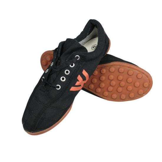Giày đinh vải đá bóng nam Thượng Đình (Đen)