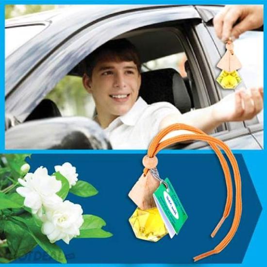 Tinh dầu treo xe hơi nguyên chất: Quế; Sả chanh; Bạc Hà; Ngọc Lan Tây; Cà Phê; Hoa Nhài