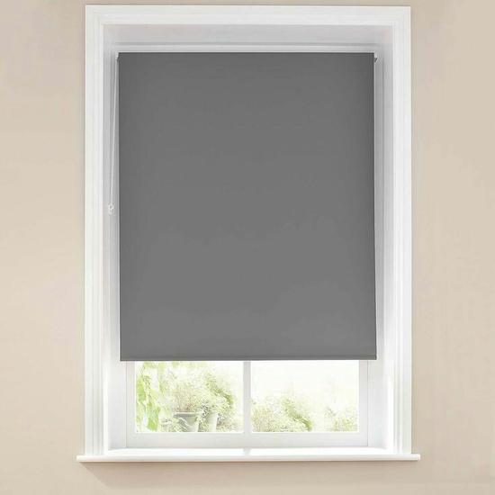 rèm cuốn màu xám (025)kích thước rộng 100cm cao 150cm