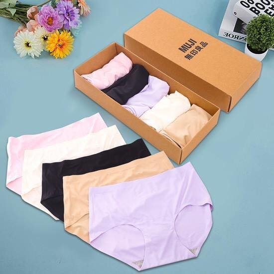 Hộp 5 quần lót đúc  muji