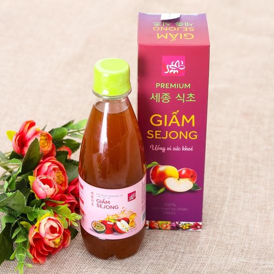 Combo 2  chai Giấm Sejong lên men tự nhiên - Bí quyết thon gọn