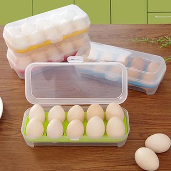 Khay để 10 quả trứng an toàn