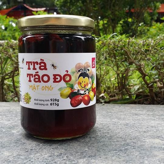 Trà táo đỏ mật ong