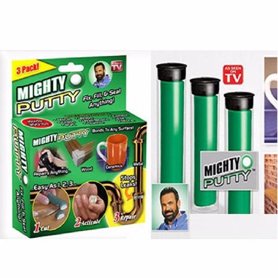 Keo Dán Thần Kì Mighty Putty Hộp 3 Ống