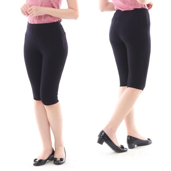 Quần legging ngố chống nắng UV siêu co giãn