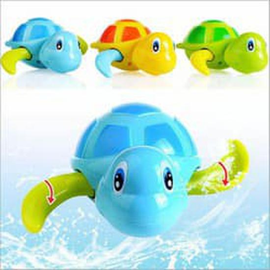 Sinh vật bơi thả tắm cho bé 10 chú
