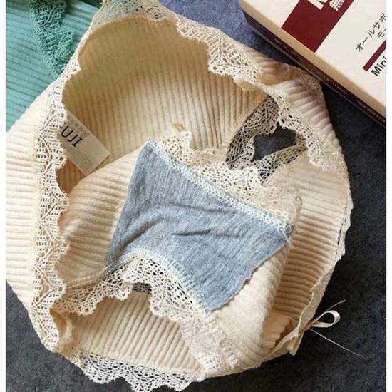 sét hộp 4 quần lót 100% cotton