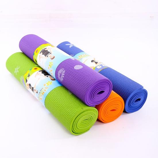 Thảm tập yoga họa tiết có túi đựng (60cm x 170cm)