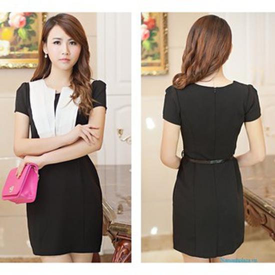 Đầm công sở cao cấp phong cách Hàn Quốc size L (165/88A)