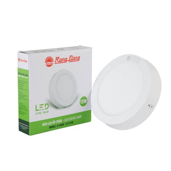 Đèn LED ốp trần 12W Rạng Đông Model: D LN09L 172/12W