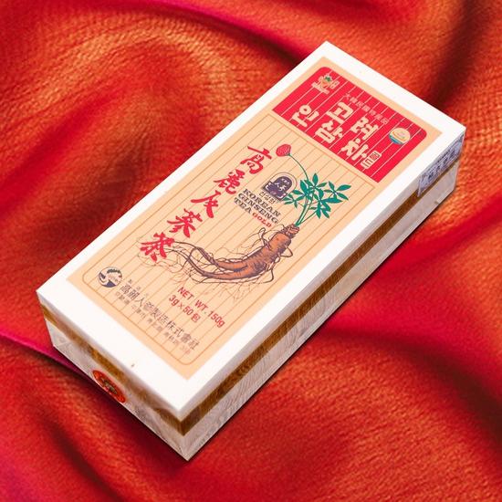 Trà hồng sân Hàn Quốc hộp gỗ