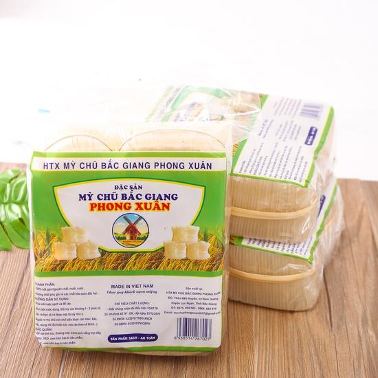 3 gói mỳ Chũ đặc sản Bắc Giang (700g/1 gói)