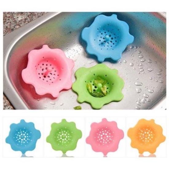 2 lọc rác bồn rửa hình bông hoa