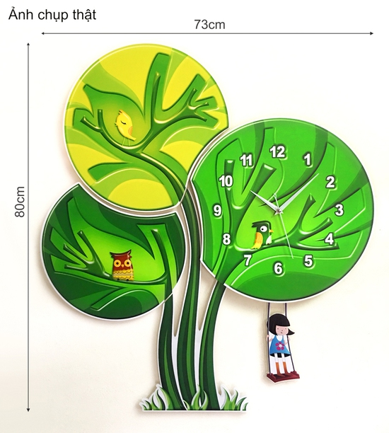 Đồng hồ treo tường Xinh
