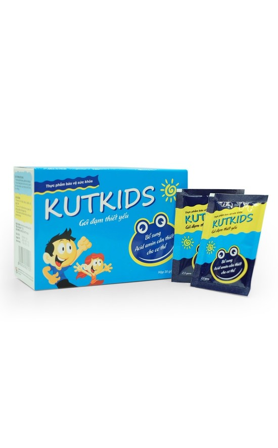 TPBVSK Gói đạm thiết yếu Kutkids 20 gói