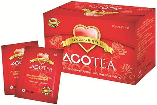 Trà tăng huyết áp Acotea  hộp 20 gói