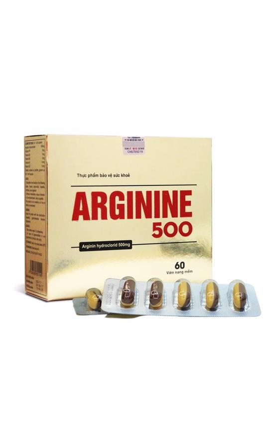 TPBVSK Viên uống bổ gan Arginine 500