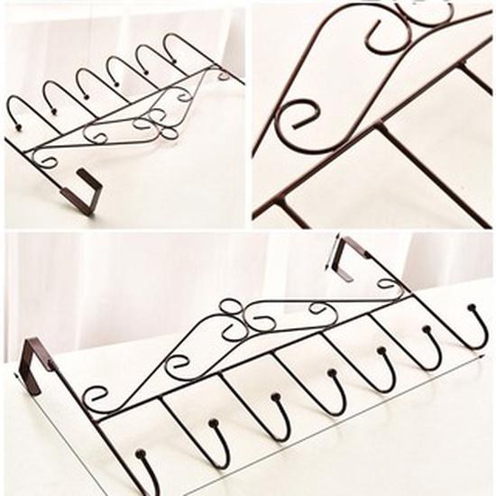Móc treo đồ sau cửa loại 7 móc tiện dụng ( Combo3 )