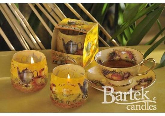 Nến thơm Bartek khử mùi hương Trà