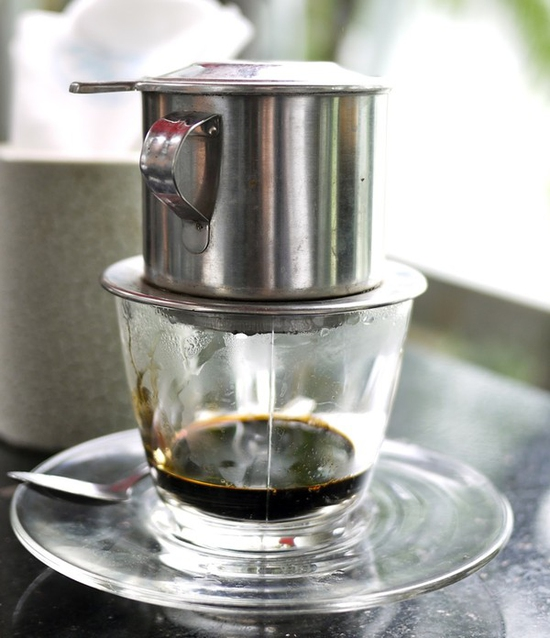 Phin pha cà phê Sài Gòn