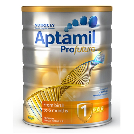 Sữa Bột Aptamil 900g/Hộp Số 1-4 Úc