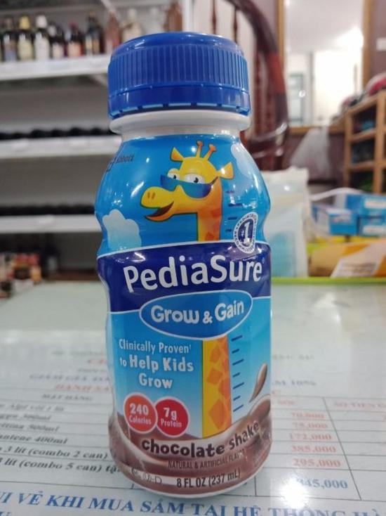 Sữa Nước Pediasure Grow 237mlx24Chai Hương Dâu/Socola Mỹ
