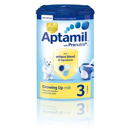 Sữa Bột Aptamil Nutrica Số 3 Cho Trẻ > 12 Tháng Nhập Khẩu 900g/Hộp Anh