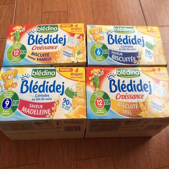 Sữa Nước Blédidej Lốc 200mlx4Hộp Pháp