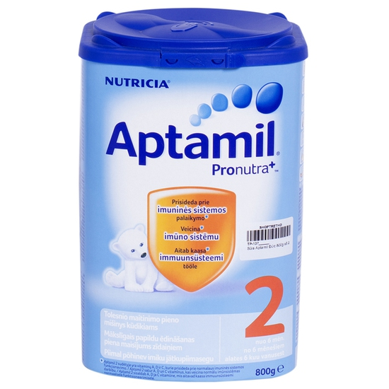 Sữa Bột Aptamil Nutrica Số 2 Cho Trẻ Từ 6 Đến 12 Tháng Nhập Khẩu 800g/Hộp Đức