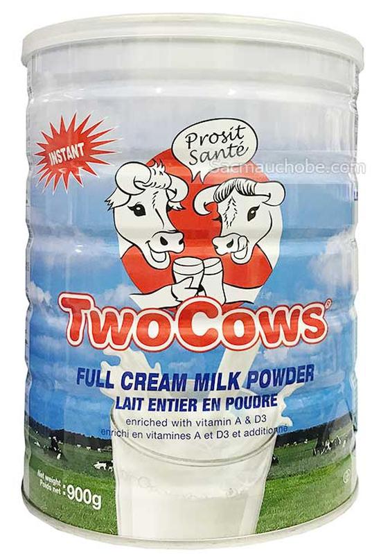 Sữa Bột Two Cows 900g/Hộp Hà Lan Sale 1/6-30/6