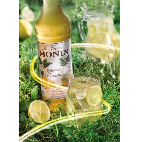 Sirô Chanh vàng cô đặc (Lemonade Concentrate) hiệu Monin-chai 700ml