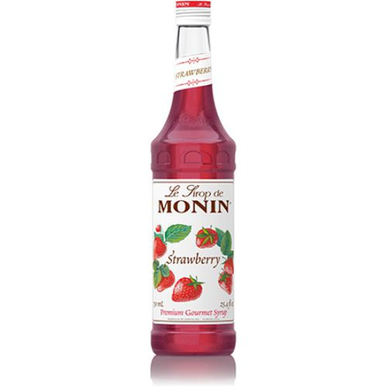 Sirô Dâu tây (Strawberry) hiệu Monin-chai 700ml
