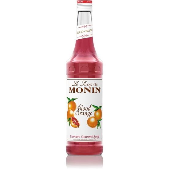 Sirô Cam đỏ (Blood Orange) hiệu Monin-chai 700ml