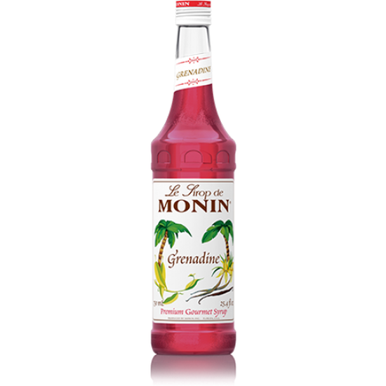 Sirô hạt lựu (Granadine) hiệu Monin-chai 700ml