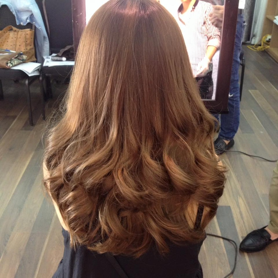 Trọn gói làm tóc cao cấp tại salon Thiên Thu