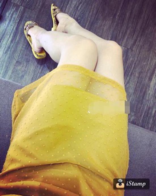 Váy voan hạt