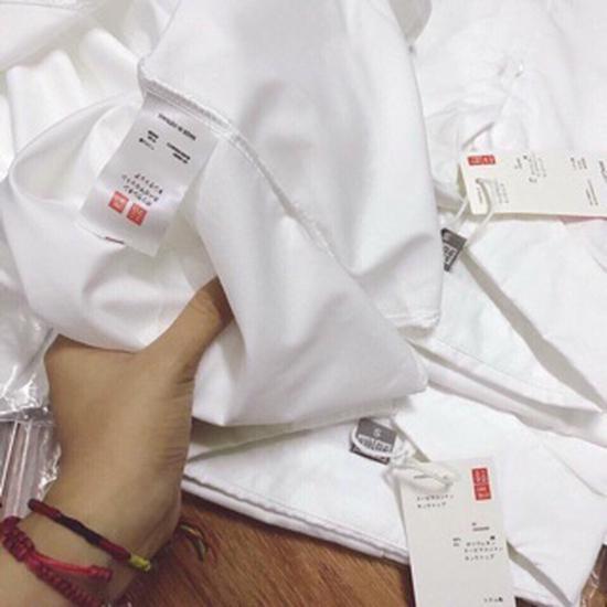 Áo sơmi unii trắng (bao đẹp)