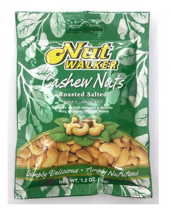 COMBO 3 túi Hạt điều rang muối Nut Walker 3* 35g