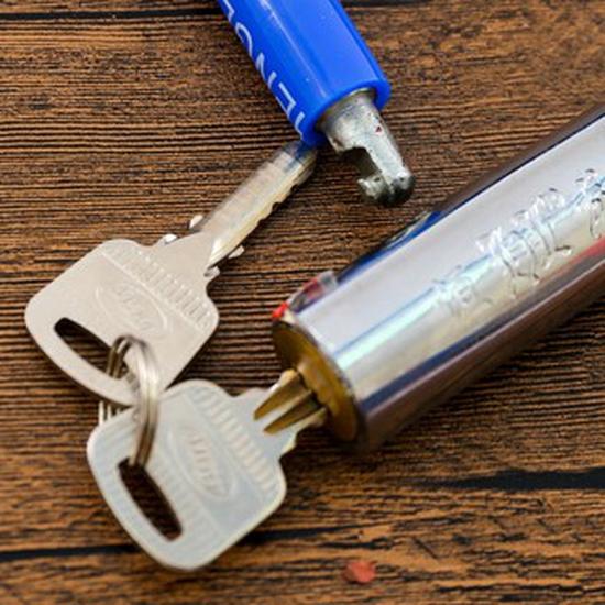 Khóa chữ U chống trộm HENG LONG cho xe kèm 2 chìa