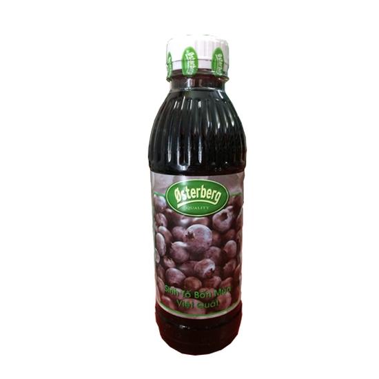 Sinh tố việt quất Osterberg Blueberry – chai 1L (new)