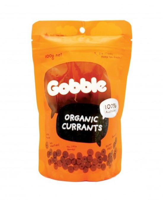 Gobble – Nho hữu cơ Currant túi 100g