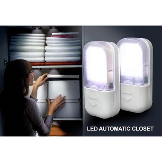 Đèn led cảm ứng từ gắn cửa chống trộm/gắn tủ quần áo
