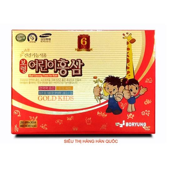 Hồng sâm Baby Hươu Cao Cổ Thượng Hạng Baby Gold Kids Hàn Quốc