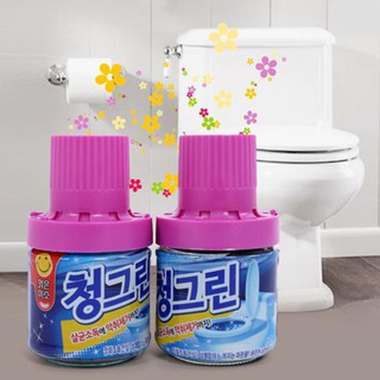 Combo 2 ống thơm tẩy két nước toilet mùi thơm mát - Dung tích 180 gr / 1 lọ
