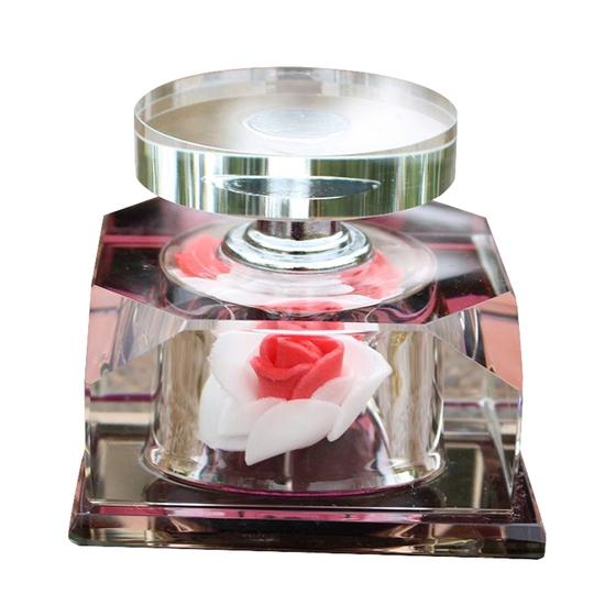 Trang trí bình hoa hồng, bình thơm gia đình (giao màu ngẫu nhiên)