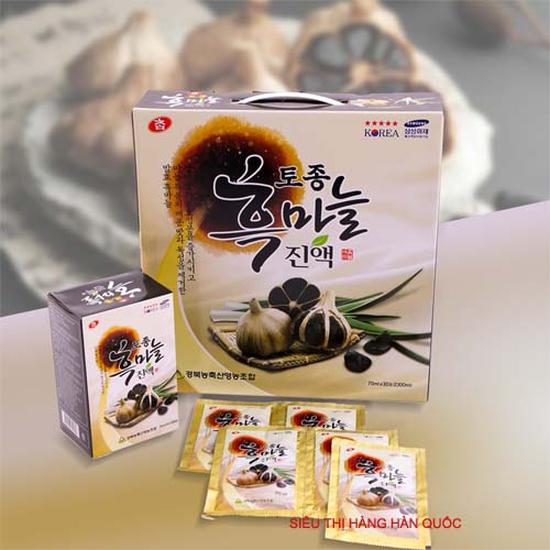 Nước tỏi đen Hàn Quốc - Thực phẩm bảo vệ sức khỏe- Cực tốt cho người tiểu đường, huyết áp, phòng ngừa ung thư hiệu quả cao