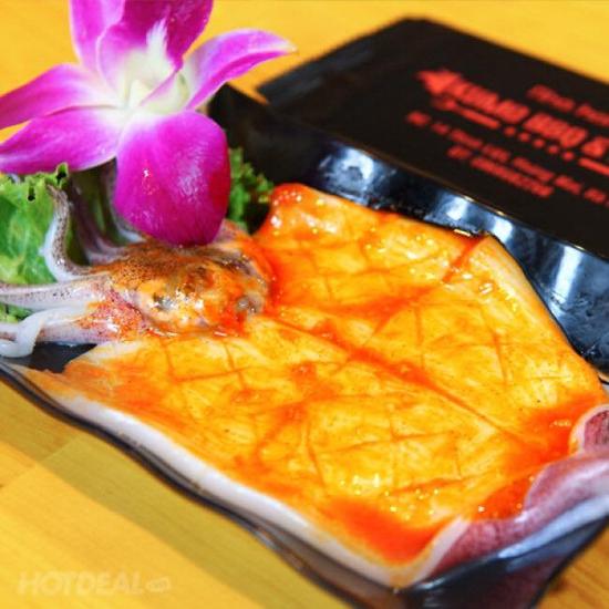 Butffet nướng chuẩn vị Hàn Kumo BBQ & Hotpot