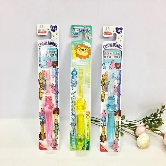 Bàn chải đánh răng ion Nhật Bản (không cần dùng kem đánh răng) cho trẻ từ 1,5 tuổi