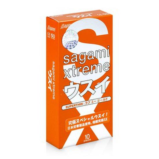 Bao cao su siêu mỏng Sagami Love Me Orange hộp 10 cái