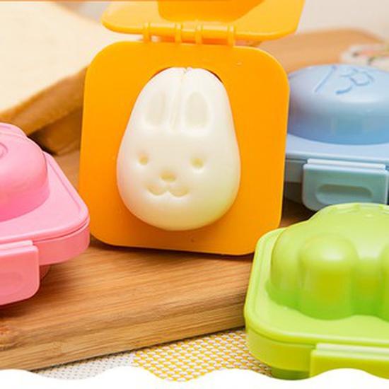 2 Khuôn cơm trứng hình gấu thỏ hàng Nhật Kokubo KK-186